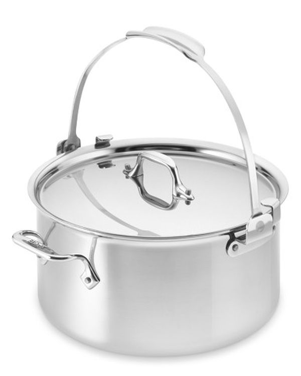 All-Clad Tri-Play Stainless Steel Pouring Stock Pot