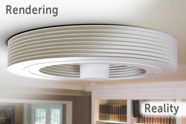 Bladeless Ceiling Fan | House Ideals