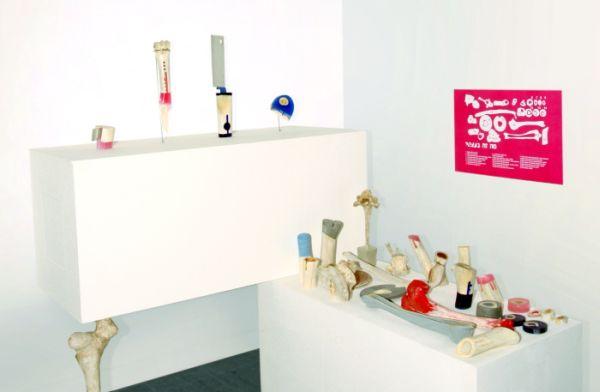 Designer crafts an exclusive knife set from natural bones