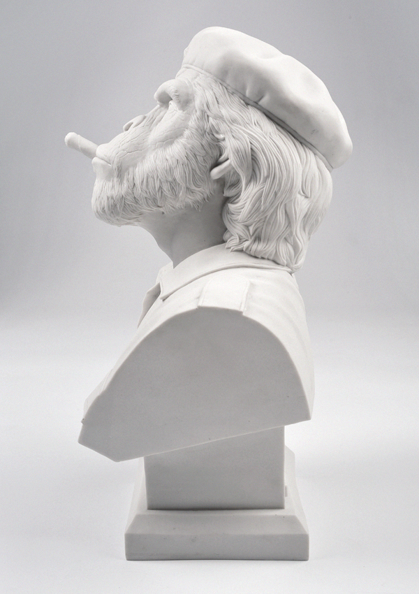 Thailand based design studio creates the crazy 'Che Ape' bust