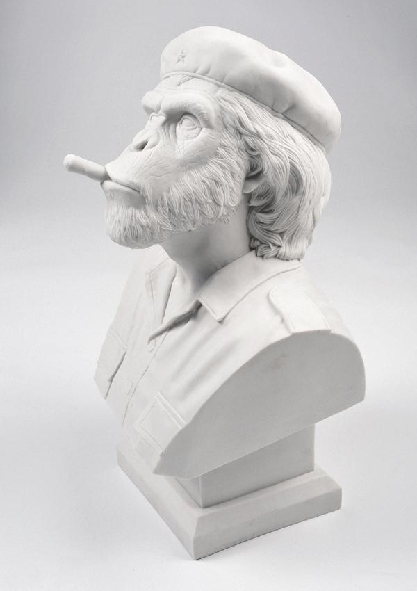 Thailand based design studio creates the crazy 'Che Ape' bust!