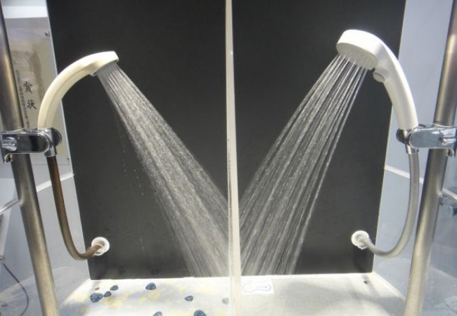 Water Saving Air-In Shower