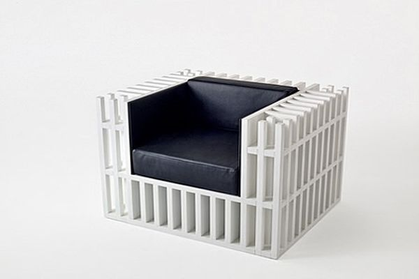 Bibliochaise By Alisee Matta And Giovanni Gennari