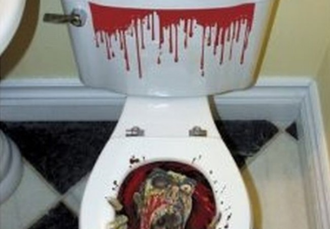 Dracula toilet seat
