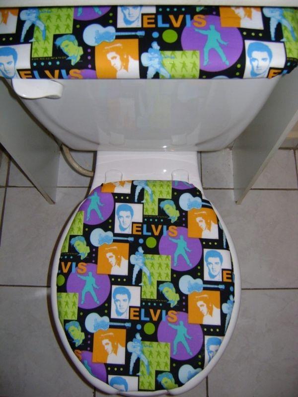 Elvis toilet seat