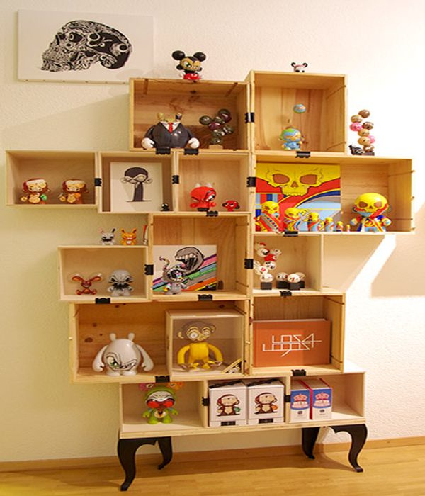 box shelf design