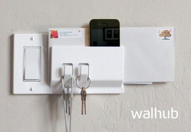 Walhub switch plates