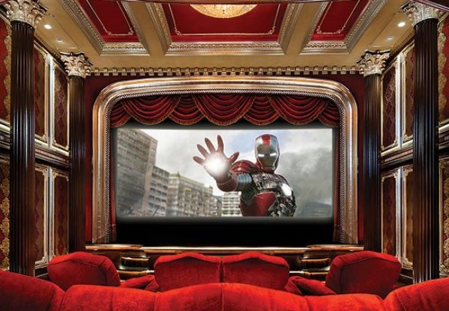 $3 million Crimson Home Theater_4