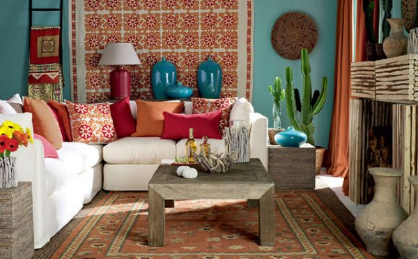 simple ideas for Mexican style interiors | Home Harmonizing!
