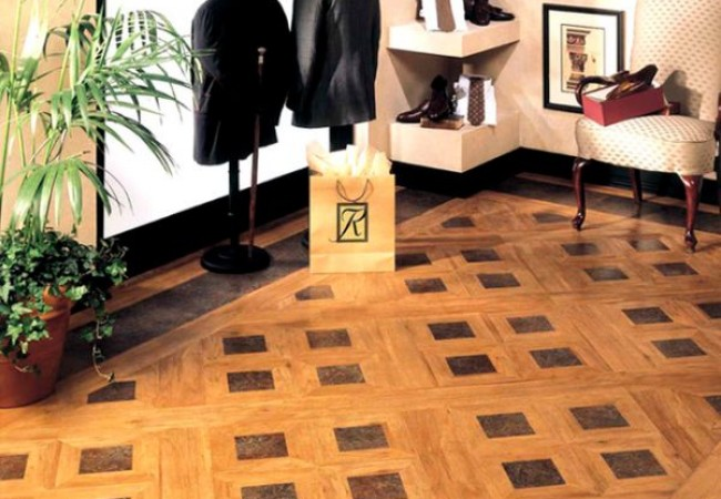 Choices of floor coverings Vinyl
