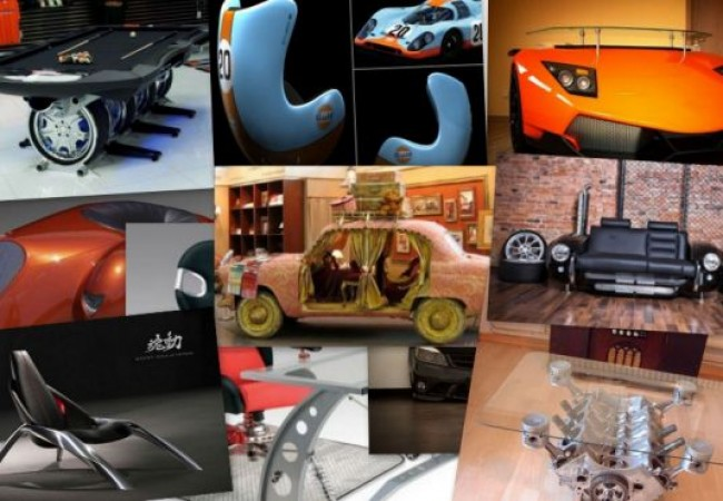 dashing automotive furniture designs
