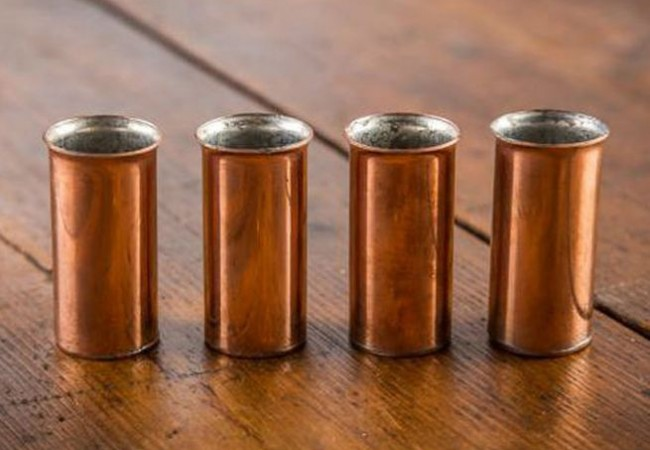 Pure Copper Old West Shot Glasses_1
