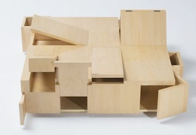 Kai Table and Puzzle box storage cabinet_4