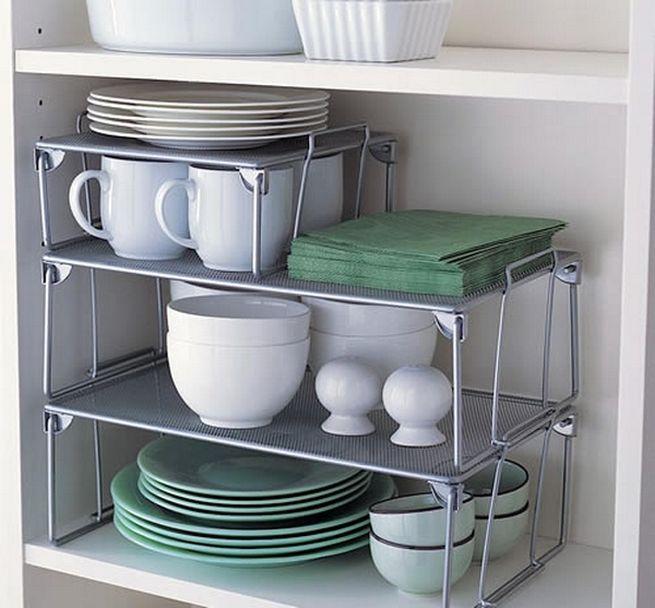 Kitchen tricks for storage space 9