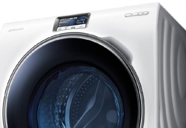 Samsung's WW9000 smart washing machine_1