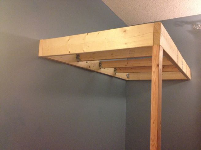 plans to build a child loft bed
