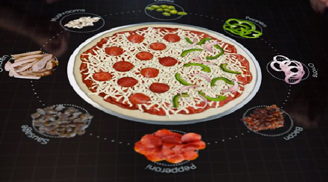 pizza technology the interactive table_4