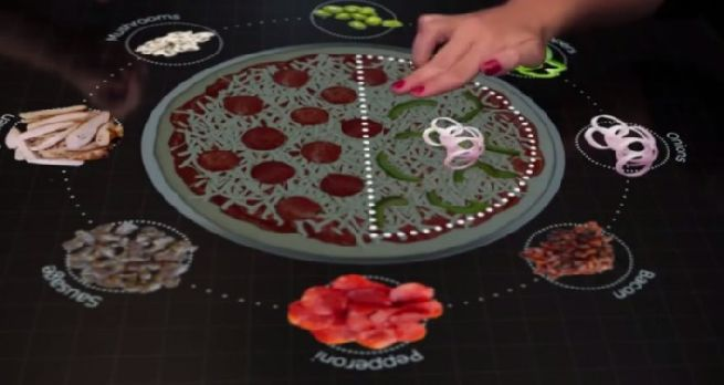 pizza technology the interactive table_5