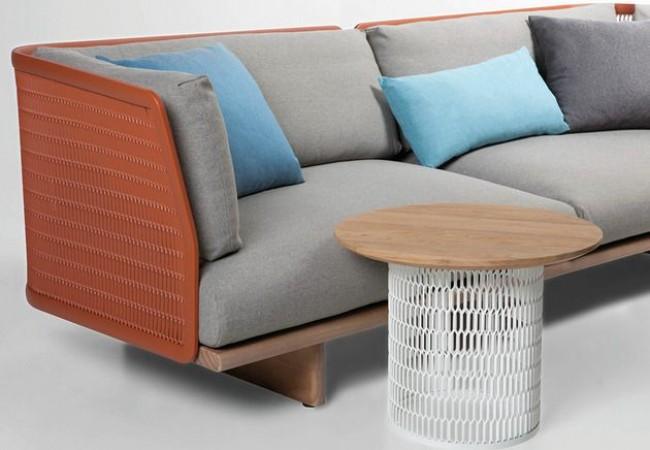 Metal Mesh Garden Sofa by Patricia Urquiola for Kettal_1