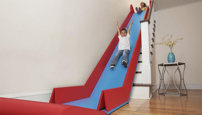 sliderider  an incredible indoor slide by trisha cleveland