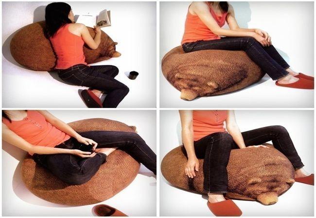 Bear Bean Cushion