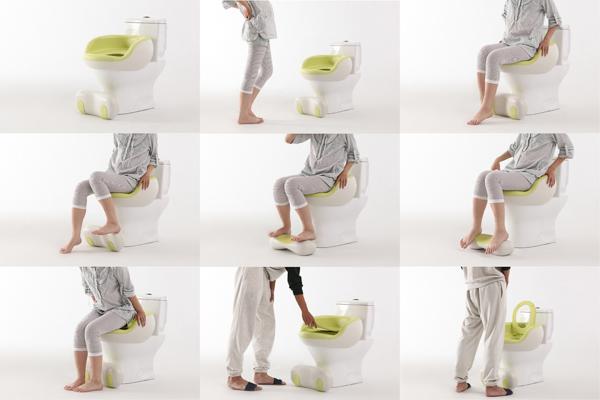 Corrola Washlet toilet system for pregnant women_7