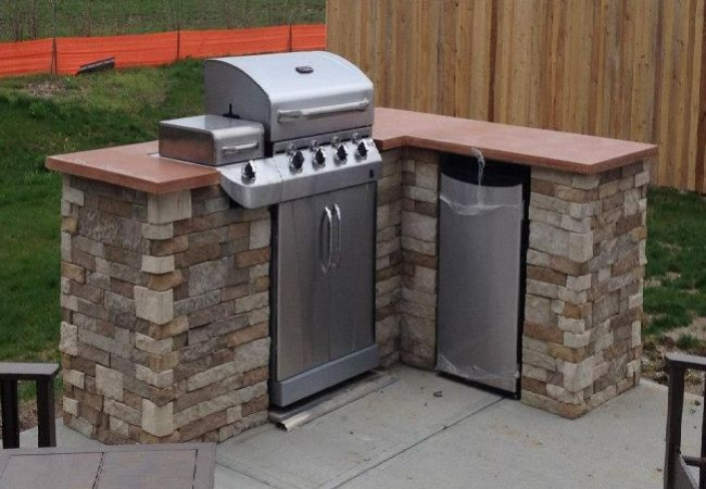 diy outdoor kitchen guide pictures to pin on pinterest