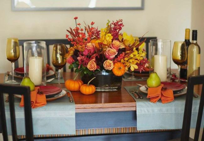 Make your Thanksgiving table look spectacular