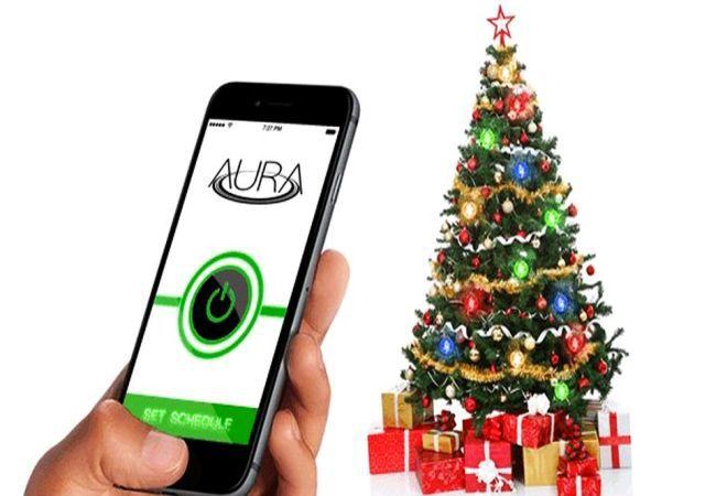 AURA wirelessly powered Christmas lights_1