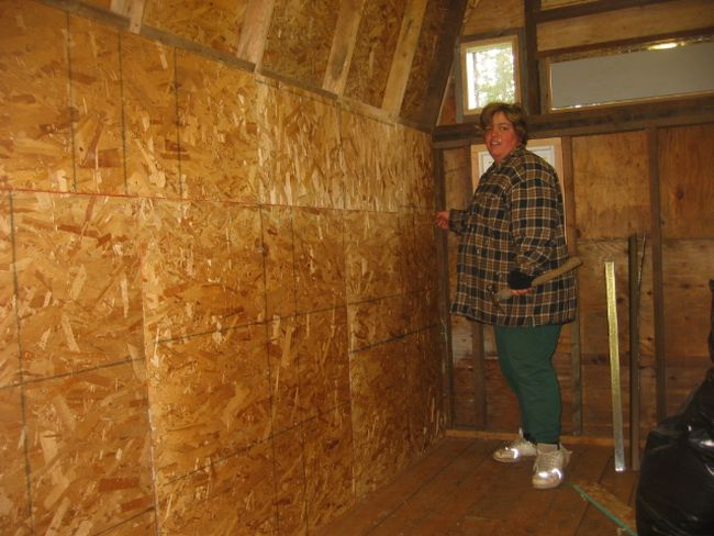 How to finish the attic walls and ceiling_3