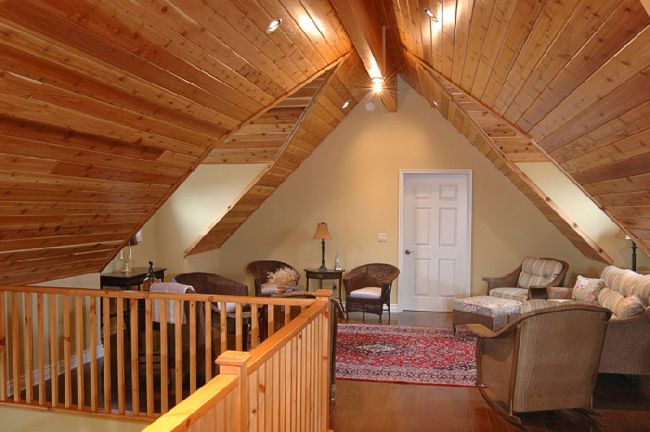 How to finish the attic walls and ceiling_5