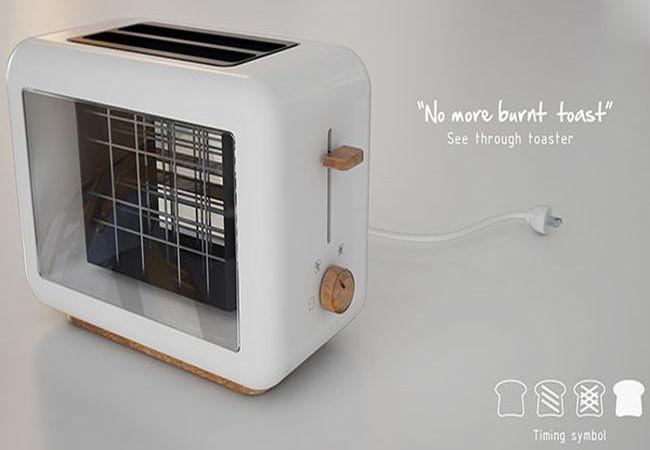 See Through Toaster by Chaya Harntaweewongsa