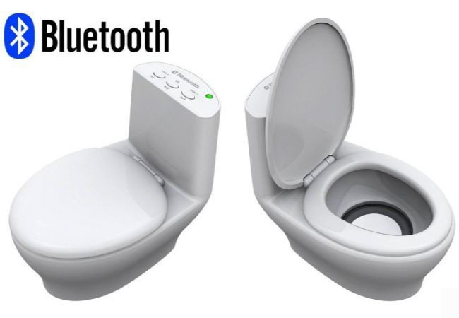Wireless Bluetooth Speaker Toilet Bluetooth Speaker