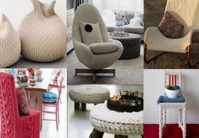 Knitted Furniture