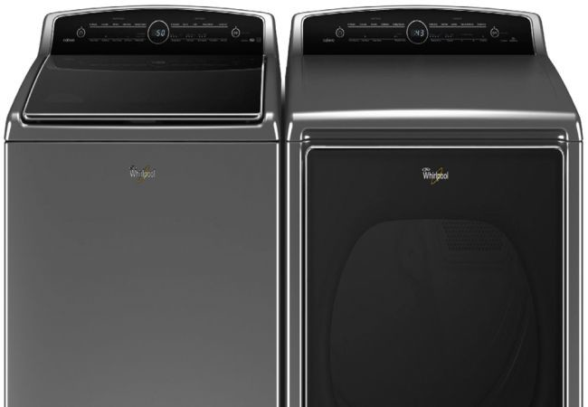 Whirlpool's Nest-Connected Washer and Dryer