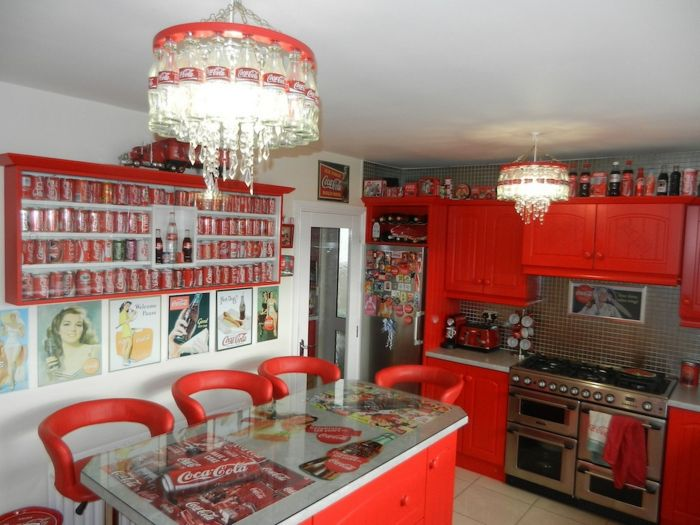 Lillian, the Coca-Cola obsessed fan transforms Every Room in the ...