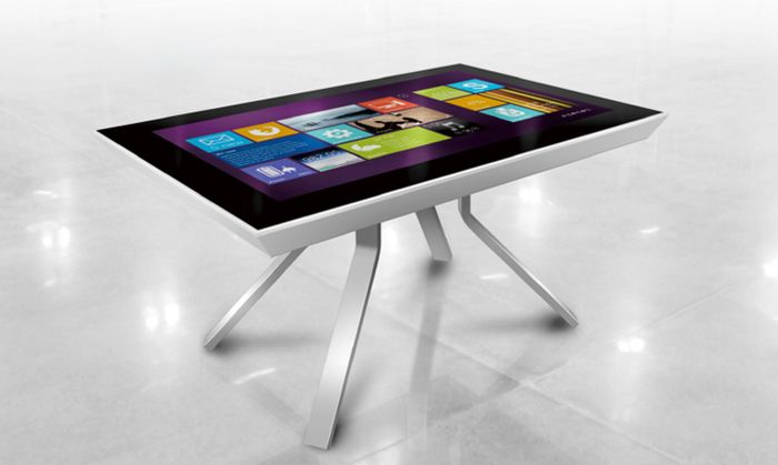 MTCT 47 inch HD Black Multi-touch Coffee Table_6