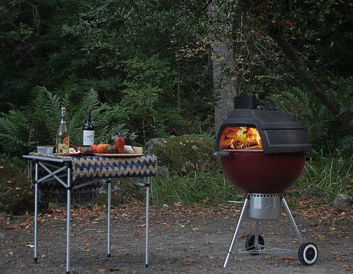 Tennessee Stone & Design 'Relic' Brick Oven-4